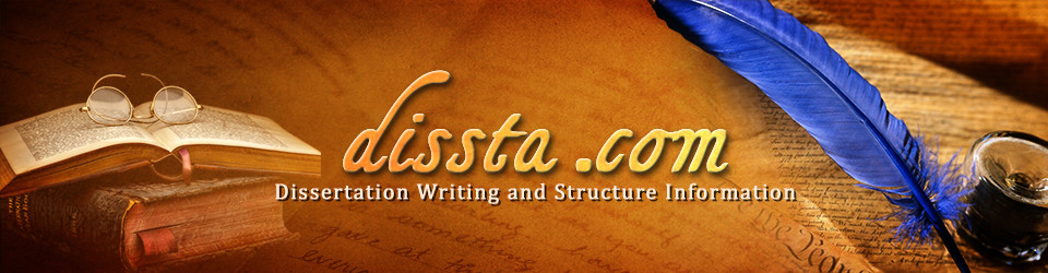 dissta header image of writing and research